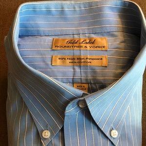 GOLD LABEL Roundtree & Yorke Men's Dress Shirt. 👔